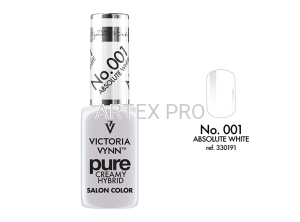 VICTORIA VYNN PURE CREMY HYBRID 001  ABSOLUTE  WHITE