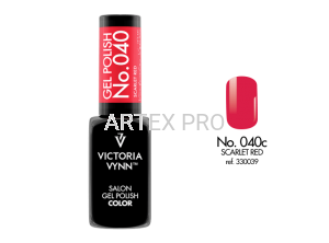 VICTORIA VYNN GEL POLISH COLOR NO.040 SCARLET RED 8ML