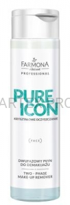 FARMONA PRO PURE ICON  PŁYN DO DEMAKIJAŻU DWUFAZOWY 250ML