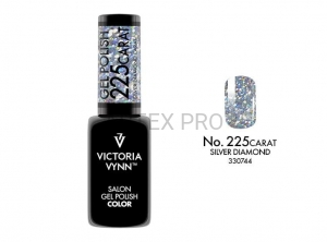 VICTORIA VYNN GEL POLISH CARAT 225 SILVER DIAMOND
