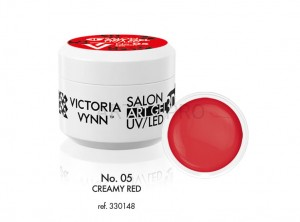 VICTORIA VYNN ŻEL 3D ART UV/LED NO.05  CREAMY RED 5ML