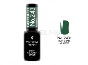 VICTORIA VYNN GEL POLISH COLOR NO.243 ROSY GRASS