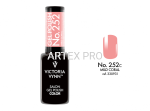 VICTORIA VYNN GEL POLISH COLOR NO.252 MILD CORAL 8ML