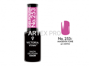 VICTORIA VYNN GEL POLISH COLOR NO.253 MAGENTA TONE 8ML
