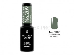 VICTORIA VYNN GEL POLISH COLOR NO.209 DUSTY GREEN