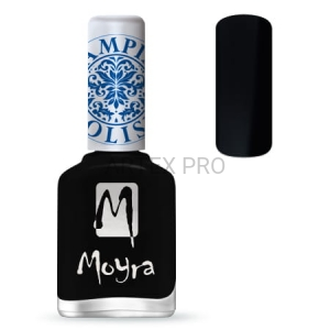 MOYRA LAKIER DO STEMPLI 06 - BLACK 12ML