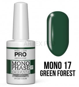Mollon Pro Monophase Cream 17 Green Forest 10ml