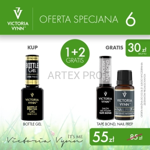 Victoria Vynn OFERTA SPECJALNA NR.6- Bottle Gel+Tape Bond i Salon Nail Prep Gratis