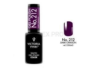 VICTORIA VYNN GEL POLISH COLOR NO.212 DARK CRIMSON