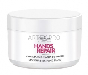 FARMONA PRO HANDS REPAIR NAWILŻAJĄCA MASKA DO DŁONI 300G