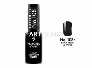 VICTORIA VYNN GEL POLISH COLOR NO.108 BLACK VELVET 8ML