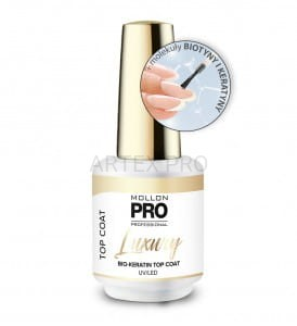 MOLLON PRO LUXURY TOP HYBRYDOWY Z BIO-KERATYNĄ 8ML
