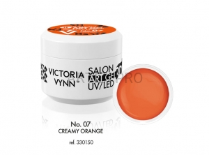 VICTORIA VYNN ŻEL 3D ART UV/LED NO.07  CREAMY ORANGE 5ML