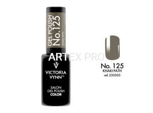 VICTORIA VYNN GEL POLISH COLOR NO.125 KHAKI PATH 8ML