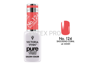 Victoria Vynn Pure creamy hybrid 124 Shocking Coral 8ml